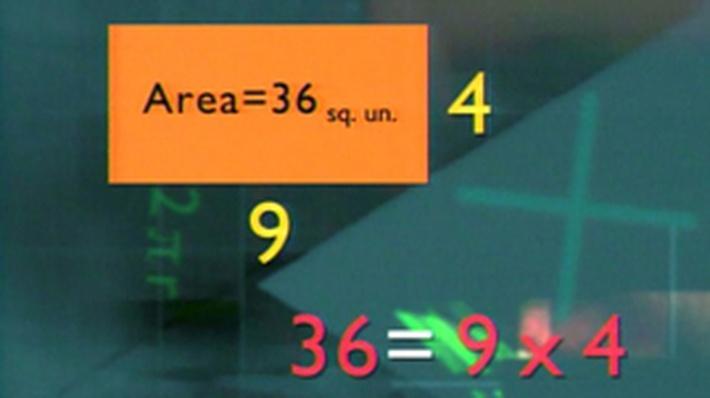 Formulas: Area of a Rectangle