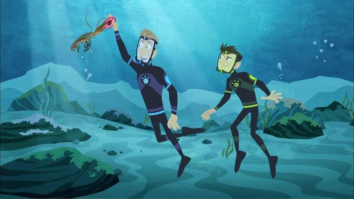 Swimming with Lobsters | Wild Kratts