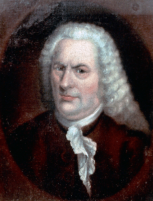 Portrait of Johann Sebastian Bach (Eisenach, 1685-Leipzig, 1750), German Composer and Organist | Clipart