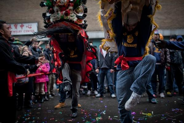 Dance Troupe Celebrates Year of the Dragon | Global Oneness Project