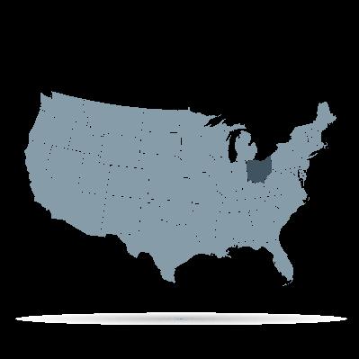 U.S. States - Ohio | Clipart