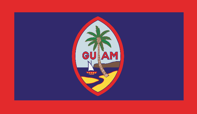 Flag of Guam | Clipart