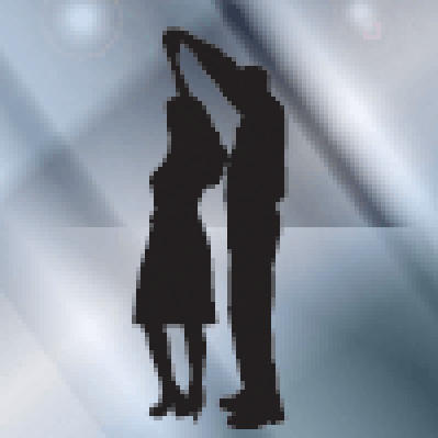 Silhouette of People | Clipart