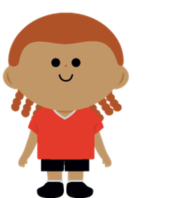 Children's Soccer Team   Clipart