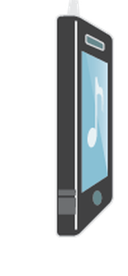 MP3 Music Player Smart Phone - View 2 of 3 | Clipart