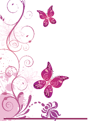 Colorful Butterflies | Clipart
