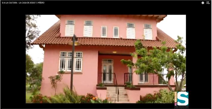Si a la Cultura: La casa de Jesús T. Piñero