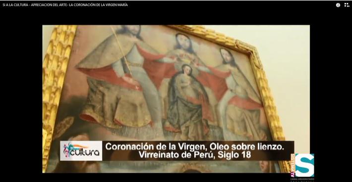Sl a la Cultura-Apreciación del Arte: La coronación de la virgen María