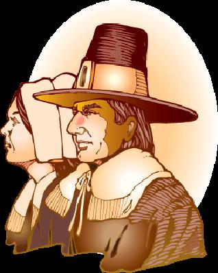 Pilgrims | Clipart
