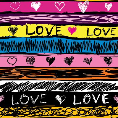 Grunge Love | Clipart