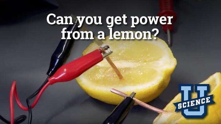 Can You Get Power from a Lemon? | Science-U