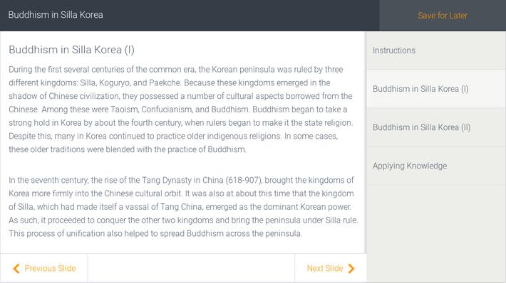 Buddhism in Silla Korea | Assignment