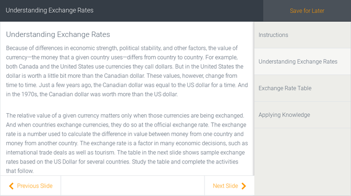 Understanding Exchange Rates | Assignment