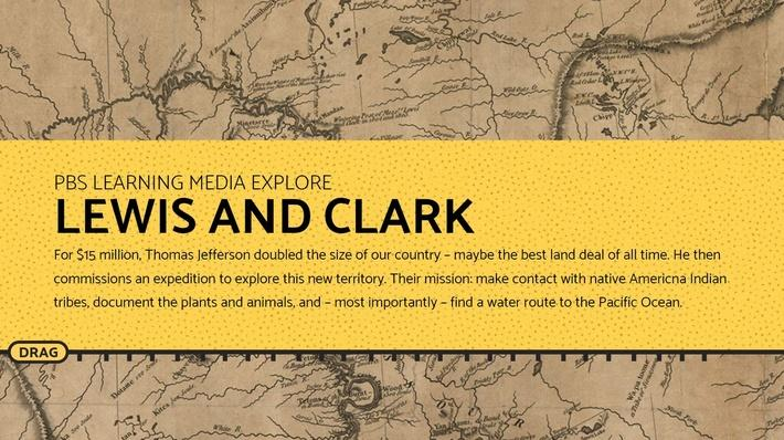 Interactive Lewis and Clark Trail