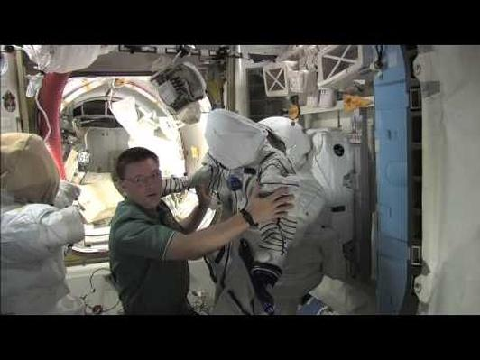 Space Clothes With Astronaut Doug Wheelock
