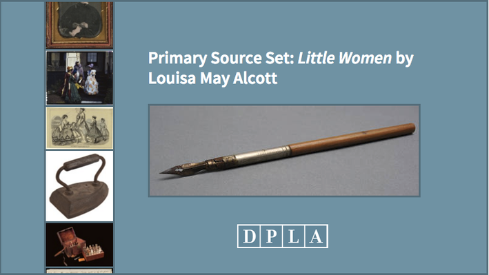 Primary Source Set: Little Women by Louisa May Alcott