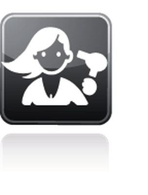 Professions - Hairdresser   Clipart