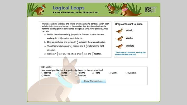 Logical Leaps | Rational Numbers on the Number Line