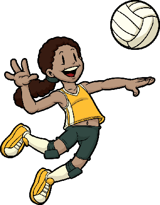 Volleyball Player | Clipart