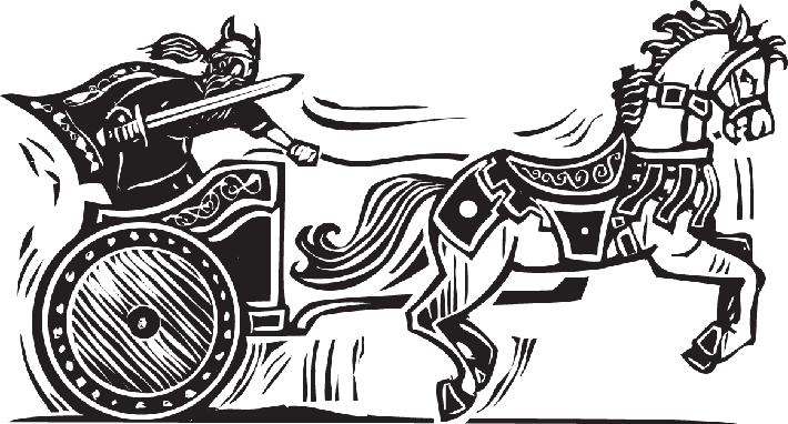 Viking Chariot | Clipart