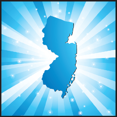 Blue New Jersey | Clipart