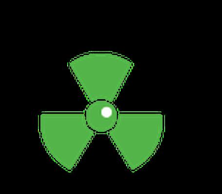 Conservation - Radiation Symbol | Clipart