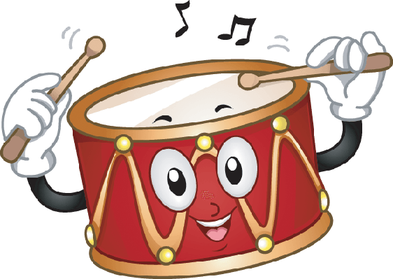 Cute Drum | Clipart