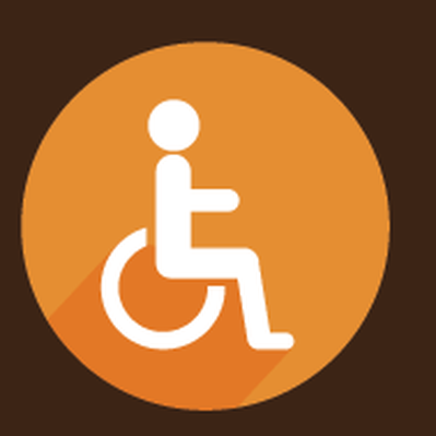Medical Symbols - Wheelchair | Clipart