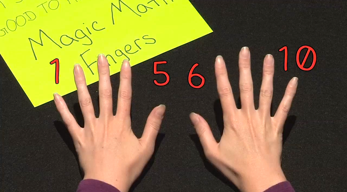 Magic Math Fingers