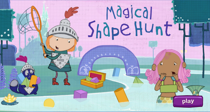 Magical Shape Hunt - Peg + Cat | PBS KIDS Lab