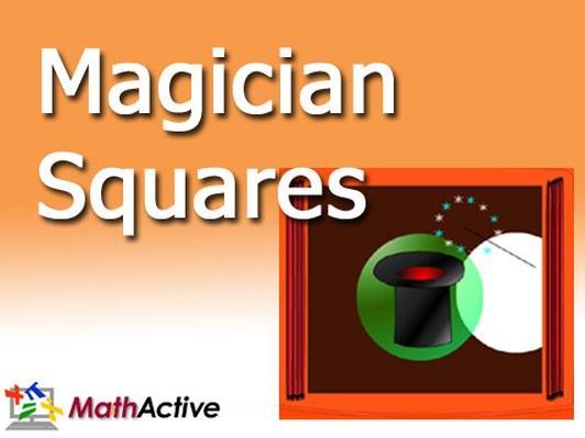 Magician Squares | Navajo Voice