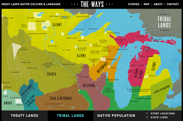 Native Nations Map | The Ways