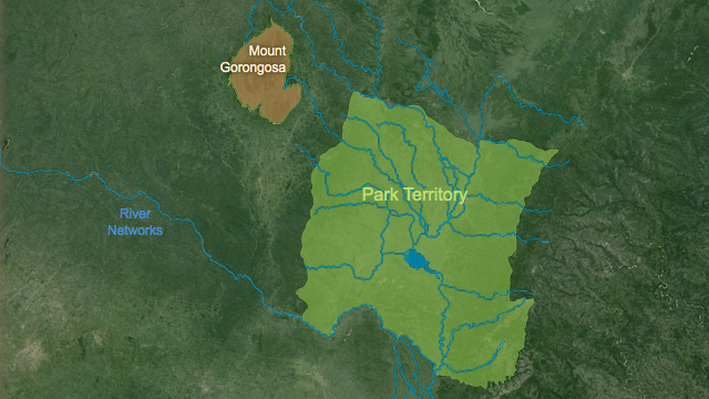 Gorongosa Interactive Map | HHMI BioInteractive