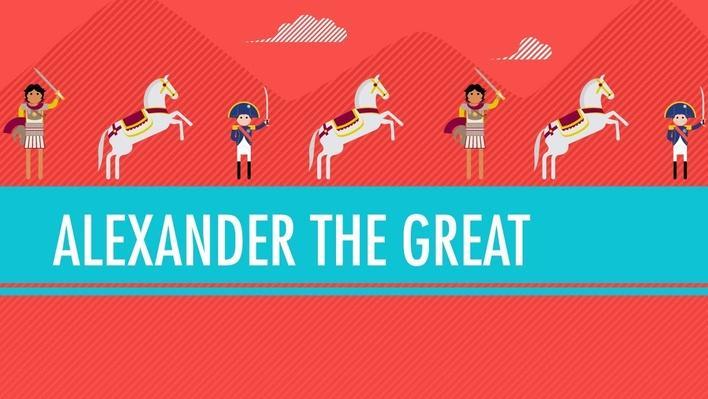 Alexander the Great and the Situation ... the Great | Crash Course World History
