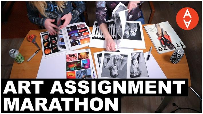 Art Assignment Marathon | The Art Assignment