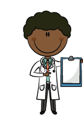 African-American Doctors | Clipart