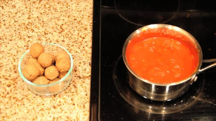 Meatballs: Volumes of Spheres and Cylinders