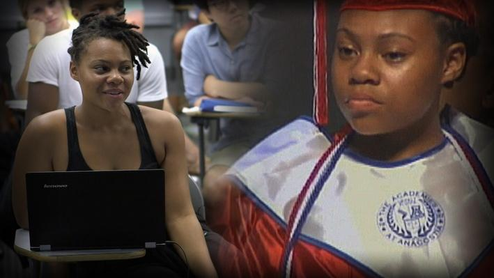 From Homeless Valedictorian to College Student - Video