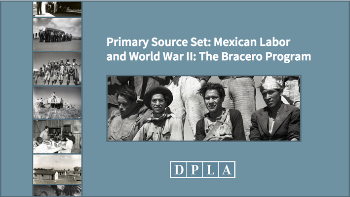 Mexican Labor and World War II: The Bracero Program