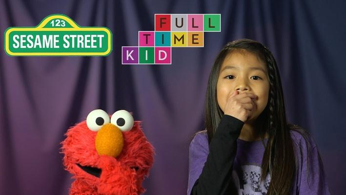 Elmo Learns to Beatbox & Breakdance | Full-Time Kid