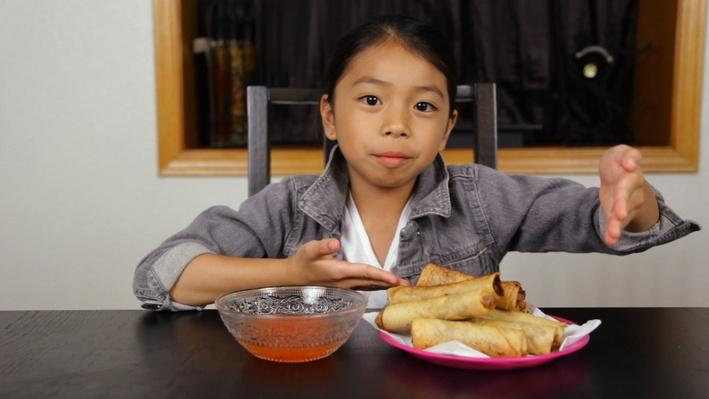 How to Make Lumpia: Filipino Egg Rolls | Full-Time Kid
