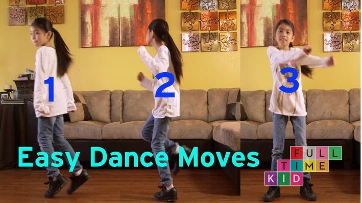 3 Easy Dance Moves | Full-Time Kid