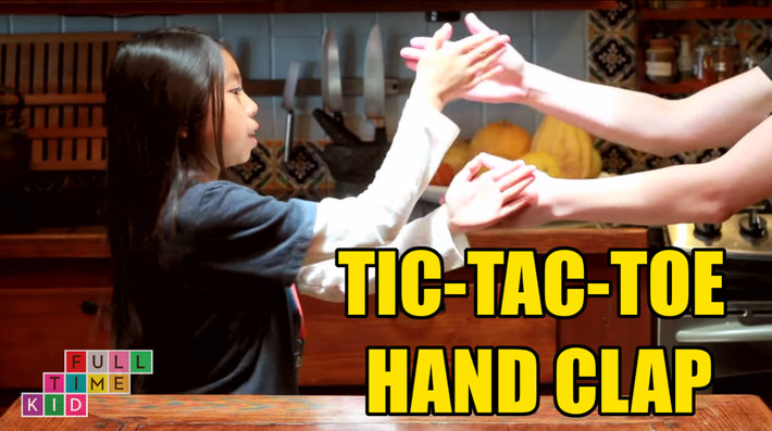 Tic-Tac-Toe Hand Clap | Full-Time Kid