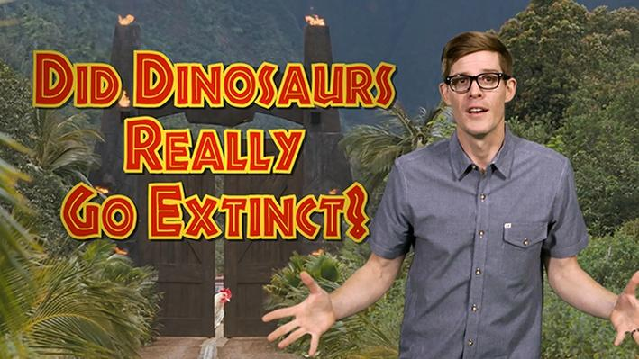 Did Dinosaurs Really Go Extinct? | It's Okay to Be Smart