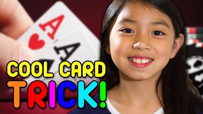 Fun & Easy Card Trick   Full-Time Kid