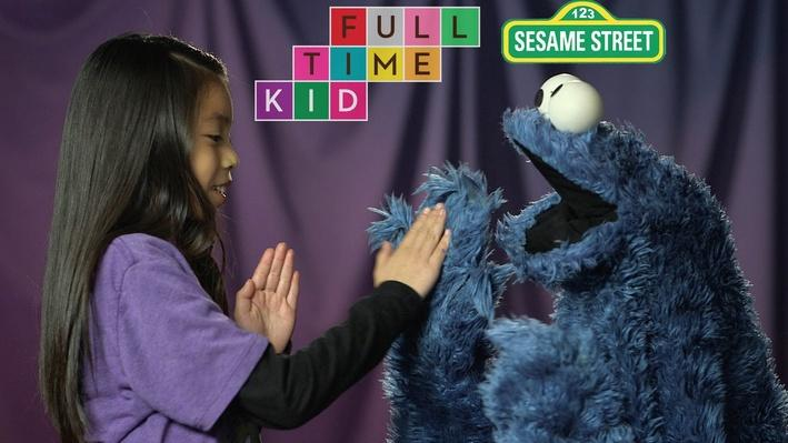Pat-a-Cookie with Cookie Monster | Full-Time Kid