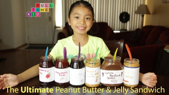 The Best DIY Peanut Butter & Jelly Sandwich | Full-Time Kid