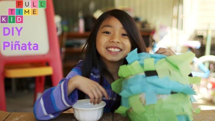 DIY Piñata | Full-Time Kid