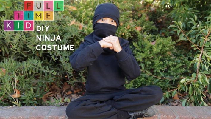 DIY Ninja Costume | Full-Time Kid