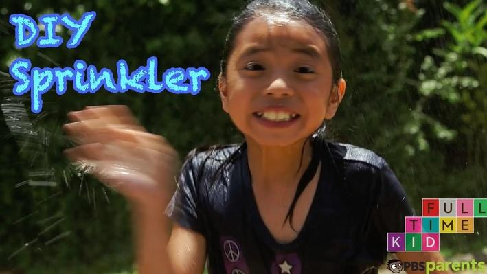 DIY Recycled Bottle Sprinkler | Full-Time Kid